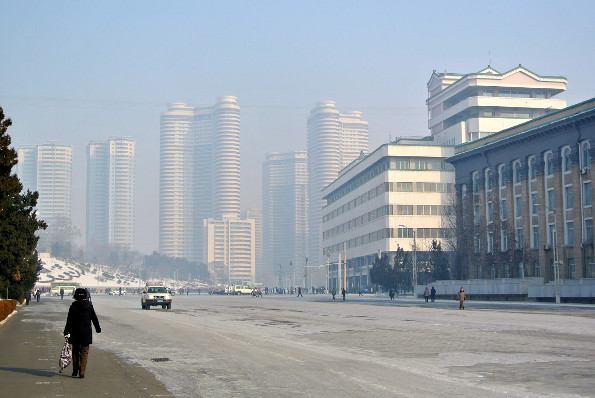 North Korea streets