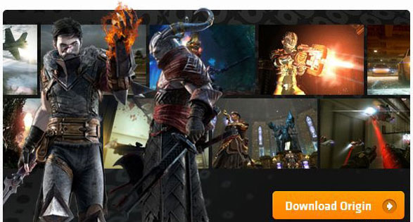 Download Image For Origin Gaming Platform