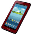 Samsung Adds Rolls Out Limited Edition Garnet Red Galaxy Tab 2 7.0