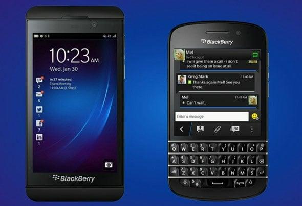 RIM Changes Name, Unveils BlackBerry 10 Devices