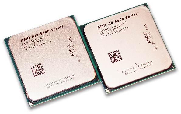 AMD A10 and A8 APUs