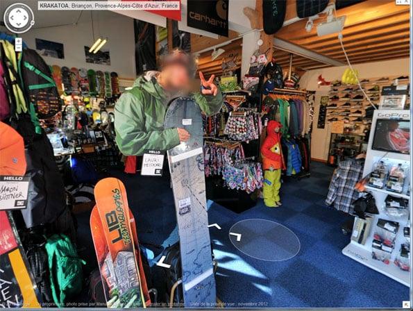 Ski Shop peace sign