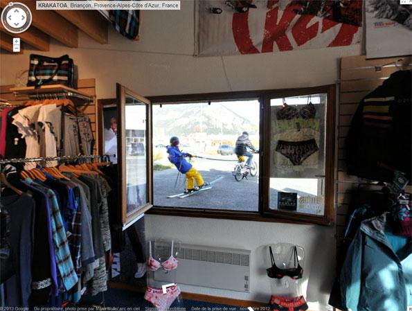 Ski Shop window