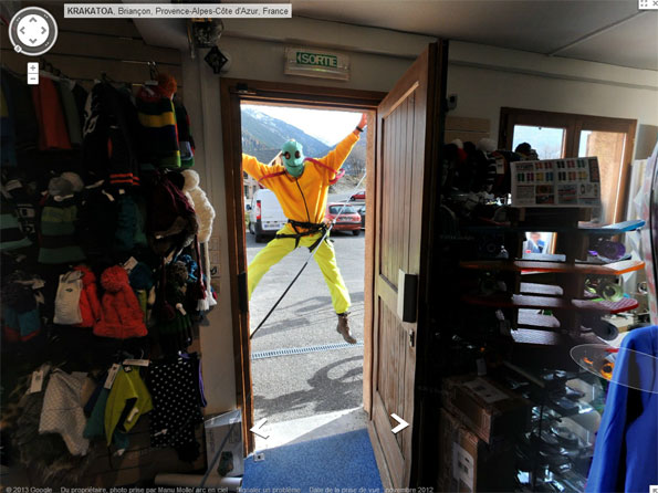 Ski Shop creepy
