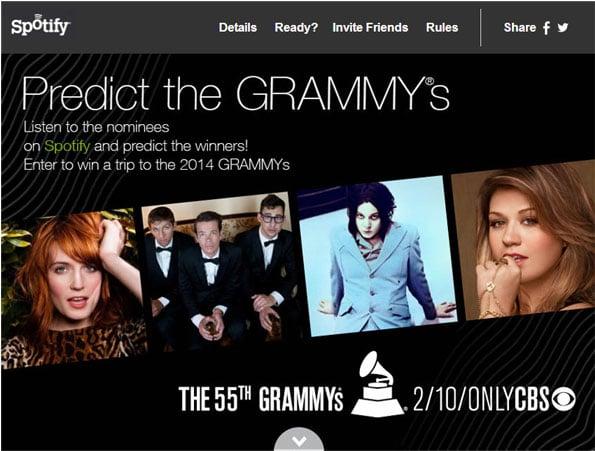 Spotify Grammys