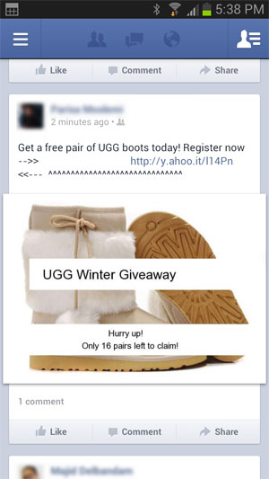 Facebook UGG