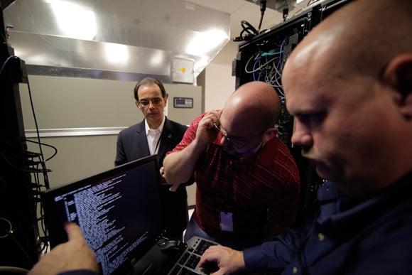 Microsoft Symantec raid