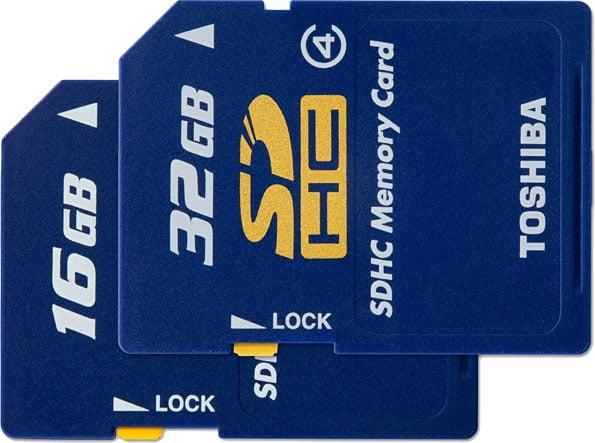 Toshiba SD Cards