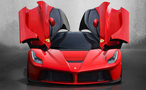 LaFerrari Doors
