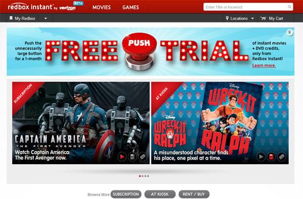 Redbox Instant Online
