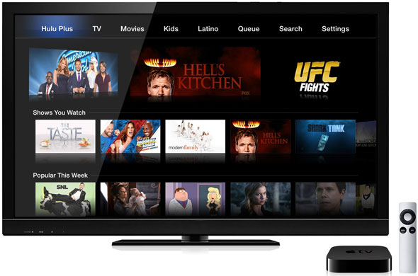 Hulu Plus on Apple TV
