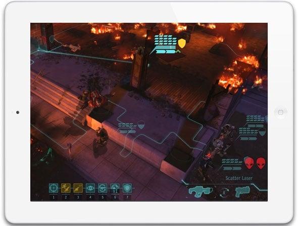 XCOM on iPad