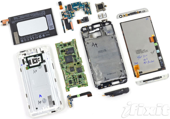 HTC One Disassembled