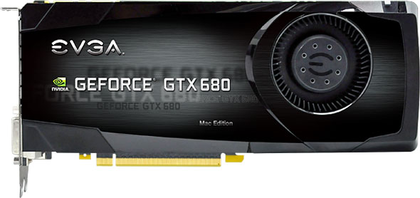 EVGA GeForce GTX 680 Mac Edition