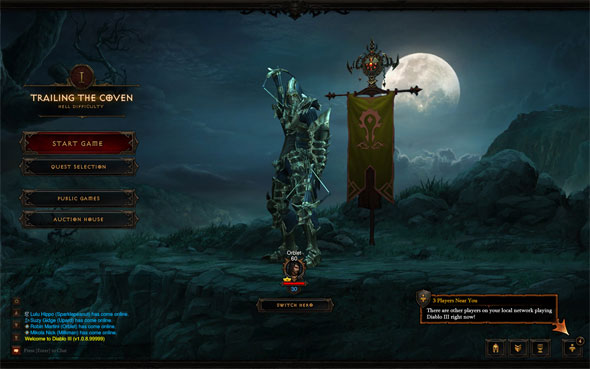 Diablo III Players Near You