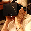 Gleeful 90-Year-Old Grandmother Reacts to Oculus Rift on Video