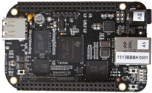 BeagleBone Black, 1GHz Cortex-A8 Powered Mini PCB Runs Linux or ...