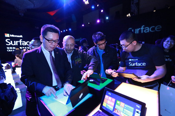 Surface launch China