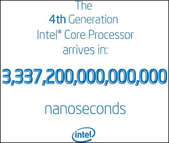 Haswell Nanoseconds