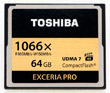 Toshiba Ships 4K-Ready CompactFlash Card With 160MB/s Transfer Rate