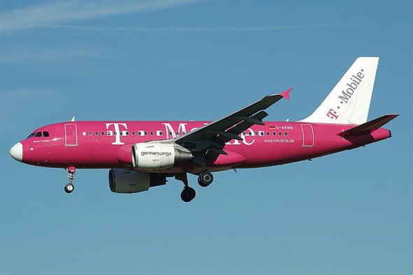 T-Mobile Plane