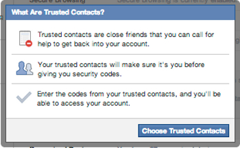 Trusted Contacts
