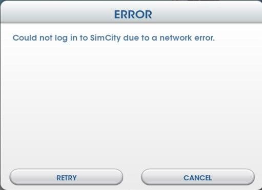 Network Error!