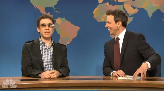 Google Glass Skit on SNL