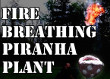 Here's a Homemade Life Size Super Mario Fire-Breathing Piranha Plant