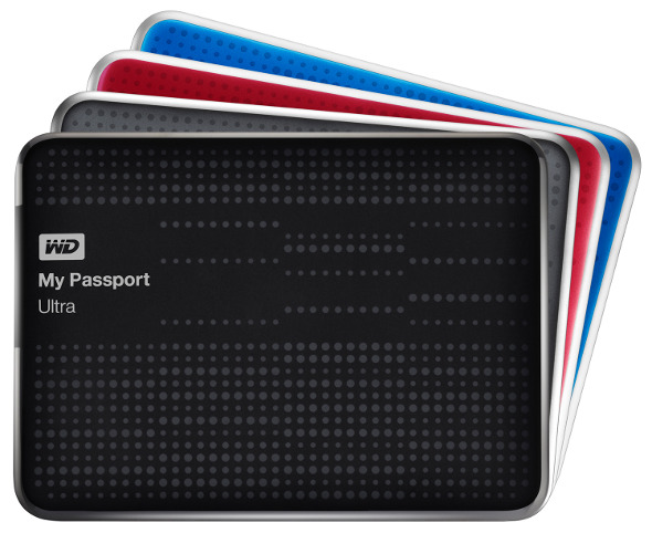 Western Digital-MyPassport Ultra-portabl HDD