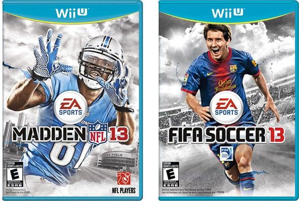 EA Wii U Games