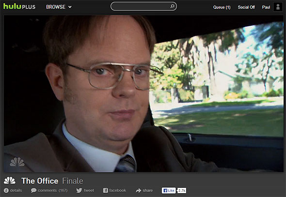 Hulu Plus The Office