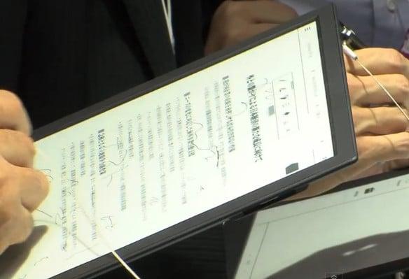 Sony E Ink notepad