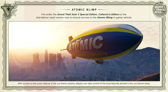 GTA V Blimp