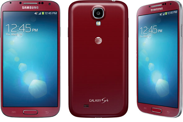 samsung galaxy s4 red atandt wwwimgkidcom the image