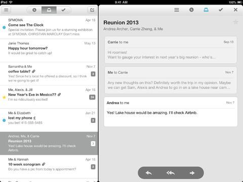 Mailbox for iPad