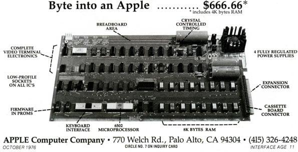 Apple-1 ad