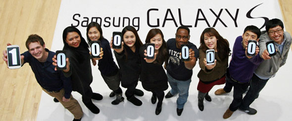 Samsung $100 Million in Sales