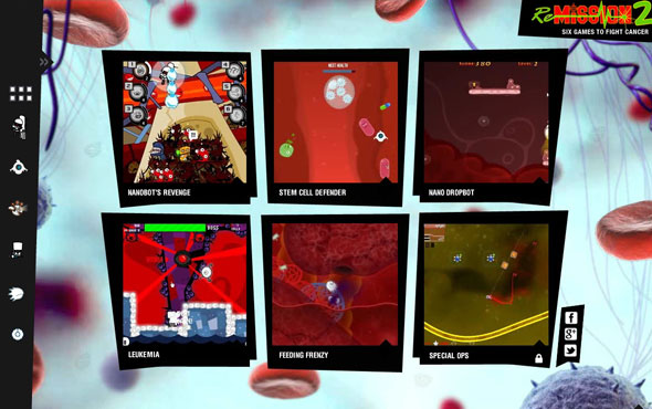 Re-Mission 2 Online Mini Games