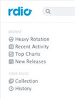 Rdio Reveals Dedesigned Music Player And Enhances Discovery Options