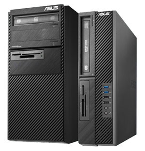 ASUS commercial desktops