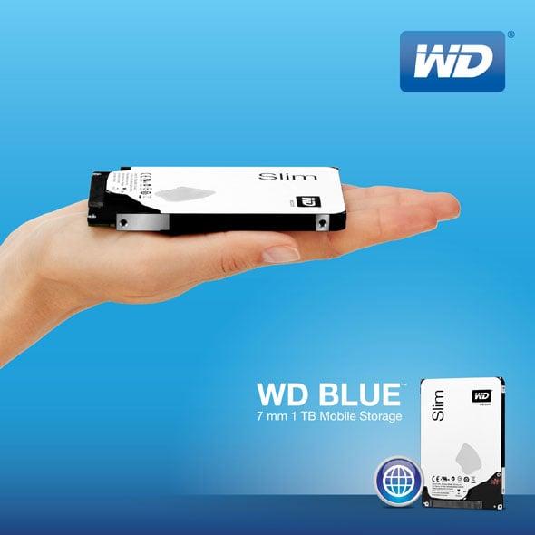 1TB WD Blue Hard Drive