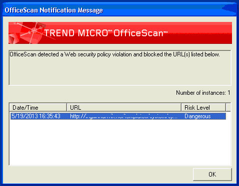 Trend Micro Scan