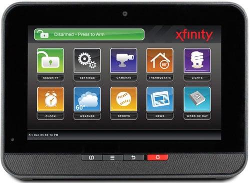 Comcast Xfinity Home Control Pad