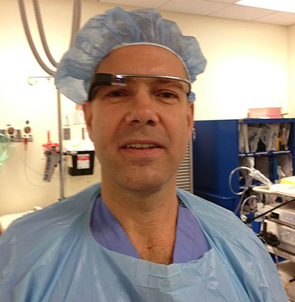 Google Glass Explorer Surgeon