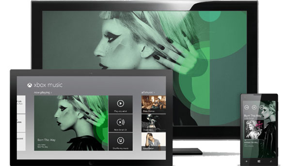 Xbox Music Devices