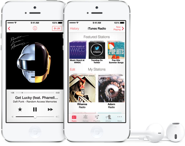 Apple iTunes Radio License Terms Offer Indie Labels A Better Deal Than Pandora