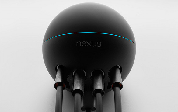 Ill-fated Google Nexus Q media player