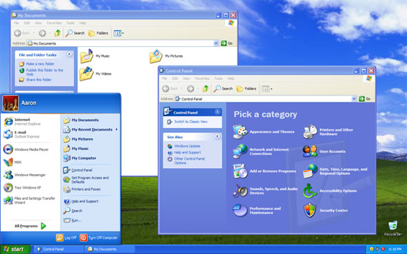 Windowx XP, no longer supported in 2014, no longer supported by AMD graphics
