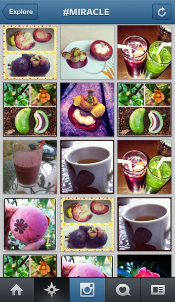 Instagram Attacked By Fruit-Loving Spammers